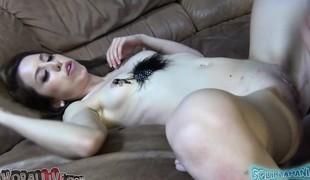 brunette anal babe pornostjerne ass små pupper kuk