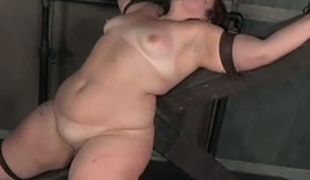 This BBW slut is into perverted stuff and that babe likes getting her twat toyed