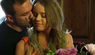 Pretty honey Alexis Adams provides her boyfriend with splendid nuru massage
