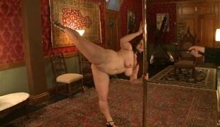 fanget striptease hd