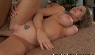 Dyanna Lauren & Mick Blue in My Allies Hot Mommy