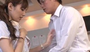 asiatisk japansk blowjob sædsprut facial strømper stor kuk hardcore rett