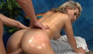 Rubbing on her bald clits ignites women needs
