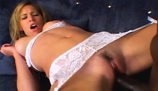 babe blonde hardcore blowjob lingerie interracial stor kuk