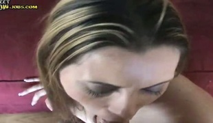 Brunette Lexie with big booty and smooth cookie has some time to play with her bush