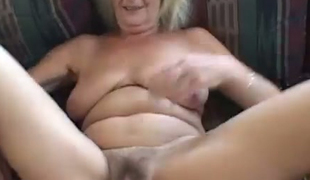 Sassy grandma with saggy love melons fucking passionately in dirty clip