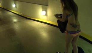 Dilettante girlfriend in bikini assfucked