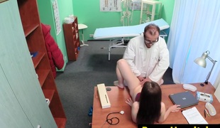 euro playgirl pussylicked by the doctor
