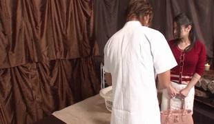 store pupper massasje par japansk rett