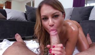 Kendall Kayden gets a thick 10-Pounder when she least expects it