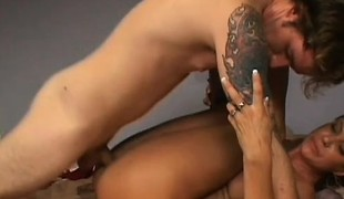 Kinky mature lady Vanessa Videl has a young stallion drilling her cunt