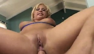 anal blonde hardcore store pupper fingring ass stor kuk gaping