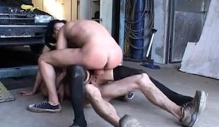 amatør brunette anal hardcore milf dobbel penetrasjon gangbang strømper ass stram
