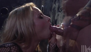 hardcore deepthroat blowjob facial trekant fetish gagging hd hals baller