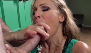 Will Powers can't live without always wet warm love gap of Julia Ann with moist hooters