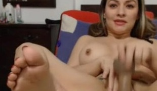 latin babe masturbate creamy orgasm - dirty squirt + anal