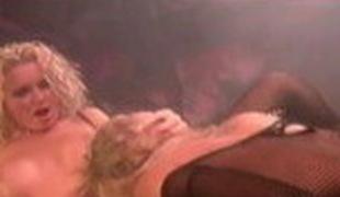 Most good pornstars Krystal Steal and Wendy Divine in lustful cunnilingus, blowjob porn movie