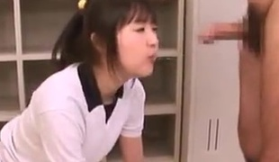 Erotic Aspire to of view movie war cry far from Asian nymph in School Uniform swallowing A thing
