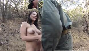 Manuel ferrara police Kayla West was caught lusty patrool du