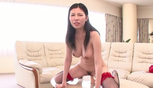 Milf is in the mood for masturbating