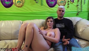 amatør virkelighet blonde milf store pupper pornostjerne sædsprut facial kuk