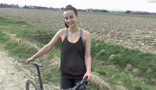 Juvenile-Devotion - Outdoor sex after a Bike Tour - HD