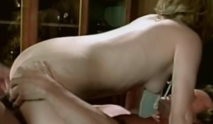 Sexually excited blond secretary having uttered with her boss