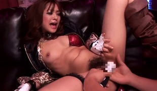 Mihiro makes no doubt of become absent-minded recent cum gives her sexual energy to spend