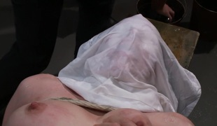 Brand New Gal Gets Tied up, Gangbanged, and Dp'ed all for the FIRST TIME EVER!!!!