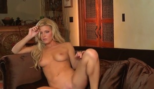 Niki Young bares it all in a playful manner