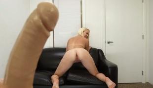 tenåring babe blonde hardcore blowjob dildo puling hd sucking