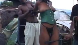Bdsm HornyAfrican Tenn Humiliated Hot Threesome