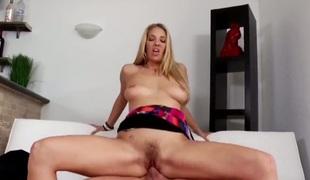 brunette blonde hardcore deepthroat blowjob moden hårete gagging blowbang hd