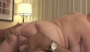 Large titted preggy brunette fucked after medical examination