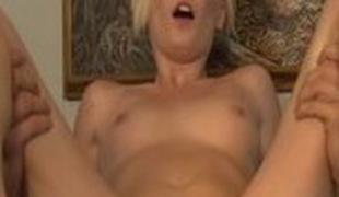 Exotic pornstar Elaina Raye in awesome cumshots, carpet munch sex clip