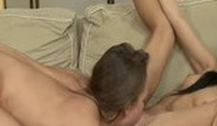 Horny pornstar in exotic dildos/toys, small tits adult video