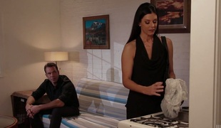 Sexually charged India Summer enjoys having vehement sex with new paramour