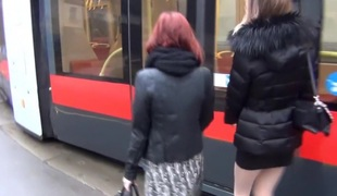 Hot amateur masterbating vid shows me jill off in bus