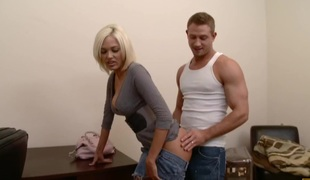 anal store pupper blonde blowjob rimjob stor kuk