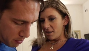 Sara Jay & Johnny Castle in My Allies Sexy Mommy