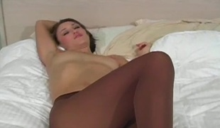 onani solo fetish strømpebukse nærhet nylon rykke ut instruksjon