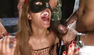 anal babe dobbel penetrasjon gangbang ass fest latina orgie braziliansk striptease