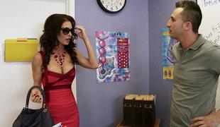 Gorgeous teacher meets her dream guy and fucks