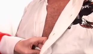 naturlige pupper hardcore blowjob rødhårete creampie