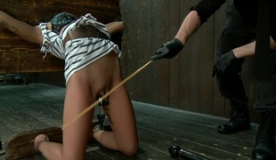 Krissie Dee Punished by Sebastian Keys on DeviceBondage!
