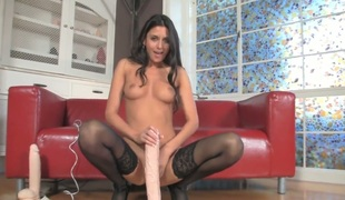 Nikki Daniels shows off her body parts
