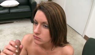 amatør brunette anal hardcore store pupper blowjob sædsprut facial ass handjob