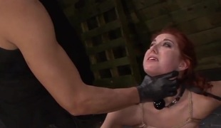 Autumn Kline Likes Bondage, Sex Toys, Squirting, Deepthroat BJ & Rough Sex