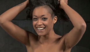 Skin Diamond is such a cutie and it is hard to see her getting punished