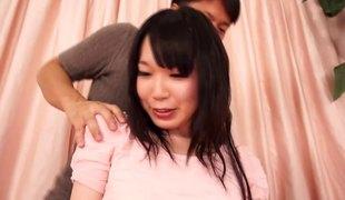 naturlige pupper langt hår hardcore store pupper blowjob asiatisk BH par japansk orgasme